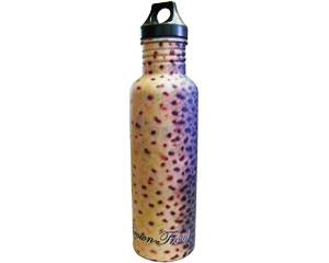 Stainless Steel Water Bottle - Brown Trout