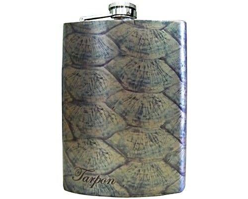 Stainless Steel Hip Flask - Tarpon