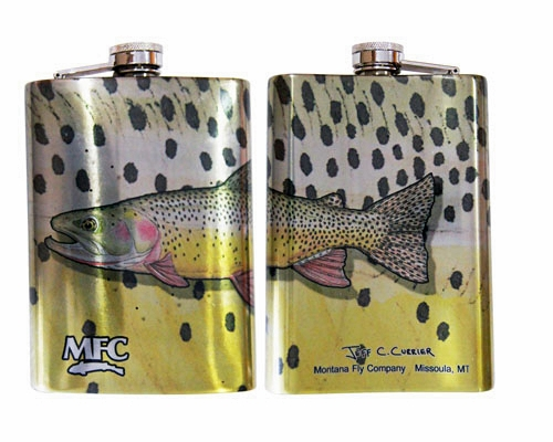 Stainless Steel Hip Flask - Snake River Cutty