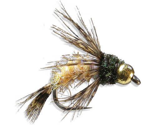 Anderson's Tung Bird of Prey October Caddis<br>#6-10