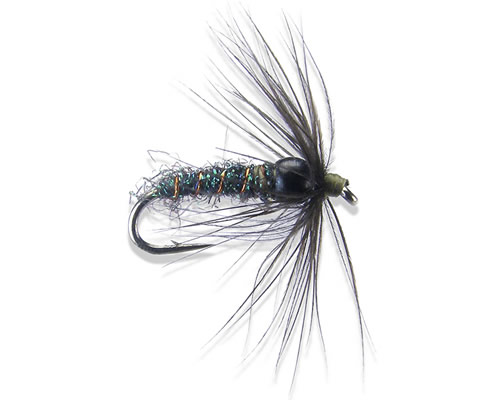 Bh soft hackle olive 10 16 for Mighty mite fishing rod