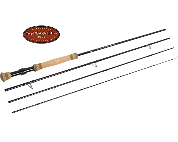 TFO Axiom Series  5wt. 9' 4 Piece Fly Rod