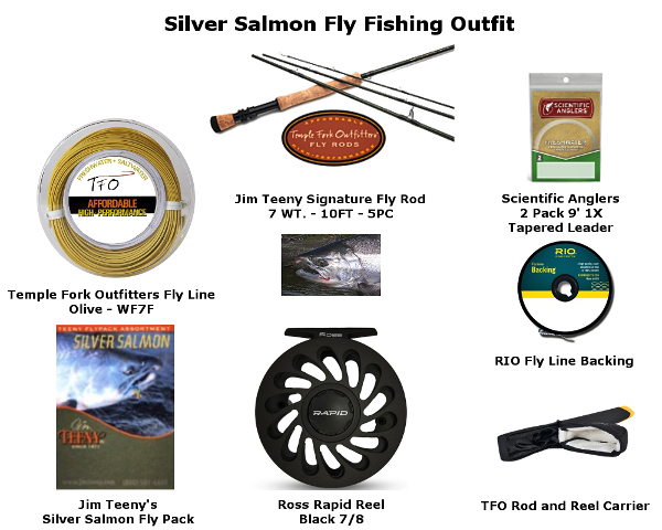 The Complete Silver/Coho Salmon Fly Fishing Outfit
