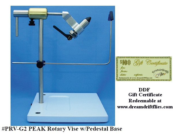 PEAK Rotary Vise with Pedestal Base  PRV-G2 with Gift Certificate