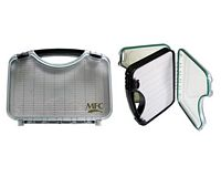 Fly Case - Clear lid - Waterproof - Large foam slots to keep flies