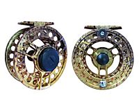 River Camo Yellowstone Series Reel<br>Brown Trout Pattern - 4/5 Weight
