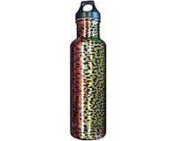 Stainless Steel Water Bottle - Rainbow Trout (Metallic)