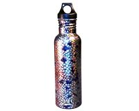 "Stainless Steel Water Bottle - Udesen - ""Brown Skin"""