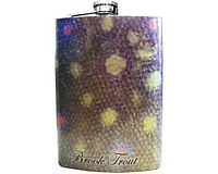 Stainless Steel Hip Flask - Brook Trout