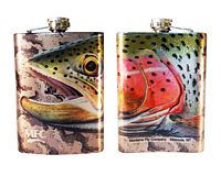 "Sundell's ""Starlight Rainbow - Grey Camo"" - Flask"