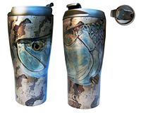 "Vacuum Travel Mug - Udesen's ""Tarpon Head"""