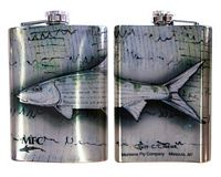 "Currier's ""Bonefish"" - Flask"