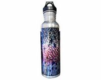 "Aluminum Water Bottle - Sundell's ""Rainbow Skin"""