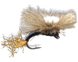 Trina's CDC Budding Emerger - Black<br>#16 & #22
