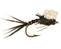 Juan's Midge Ice Emerger - Black #18-22