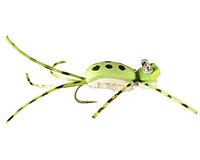 Sutton's Little Bass Frog - Chartreuse #08