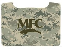Boat Box Decal - Digi Camo with MFC Logo