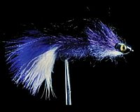 Coffey's Articulated Sparkle Minnow - Purple