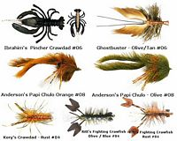 Crawfish Flies Assortment