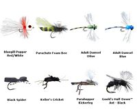 Panfish Flies Fly Kit - 8 Flies
