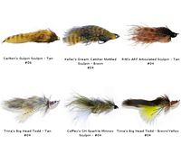 Sculpin Flies Assortment Kit - 6 Piece
