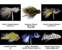Streamer Assortment - 6 Flies II