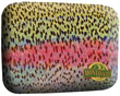 River Camo Plastic Fly Box - Rainbow Trout