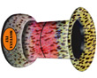 River Camo Hair Stacker - Rainbow Trout - Small