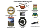 Silver/Coho Fly Fishing Outfits