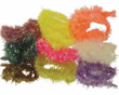 Lucent Chenille - Black - Sizes Micro (Spooled), Small, Large