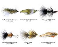 Streamer Assortment - 6 Flies