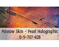 Minnow Skin - Pearl Holographic