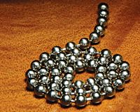 Stainless Steel Bead Chain Eyes - Extra Large