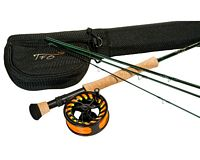 TFO NXT Series 8/9 wt. 9' 4 Piece Rod & NXT LA Reel