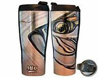 "Vacuum Travel Mug - Borski's ""Tarpon and Fly"""