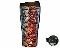 Vacuum Travel Mug - Sundell's Rainbow Trout Skin""