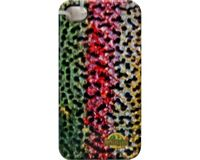 River Camo - iPhone 4 Cover w/glossy Grip - Rainbow Trout